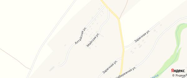 Майская улица на карте села Осколково с номерами домов