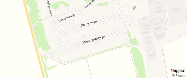 Молодежная улица на карте села Белояровки с номерами домов