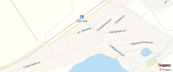 Карта Черемного села в Алтайском крае с улицами и номерами домов
