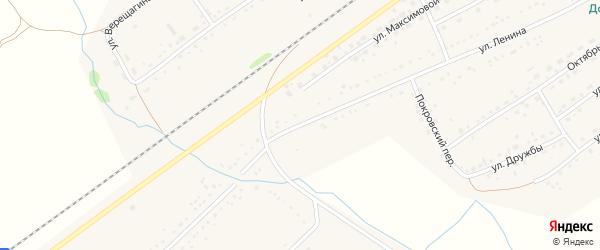 Улица Ленина на карте Черемного села с номерами домов