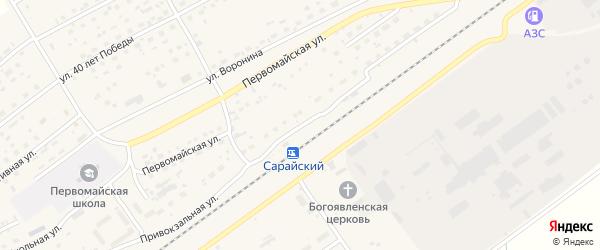 Привокзальная улица на карте Черемного села с номерами домов