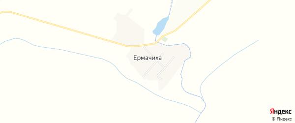 Карта поселка Ермачихи в Алтайском крае с улицами и номерами домов
