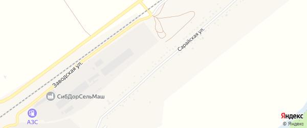 Луговая улица на карте села Сараи с номерами домов