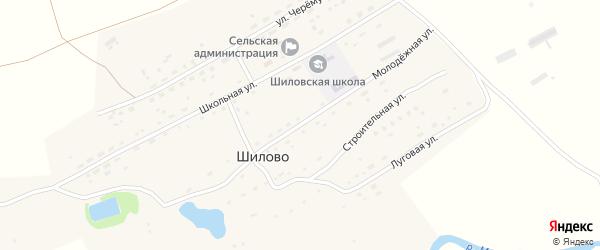 Молодежная улица на карте села Шилово с номерами домов