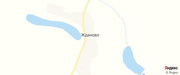 Улица Жданова на карте поселка Жданово с номерами домов