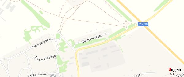 Дорожная улица на карте Чарышского села с номерами домов