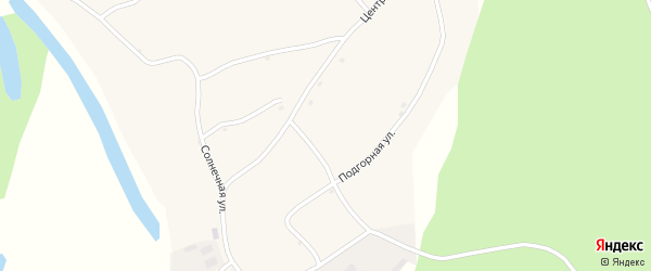 Боровая улица на карте села Зайцево с номерами домов