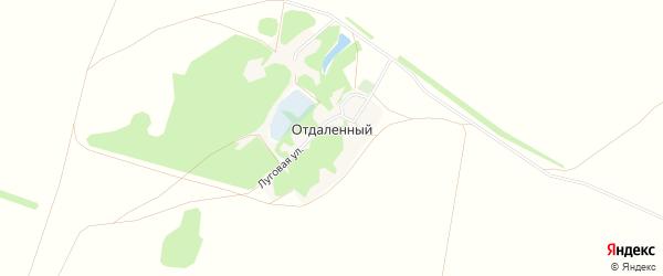 Карта Отдаленного поселка в Алтайском крае с улицами и номерами домов