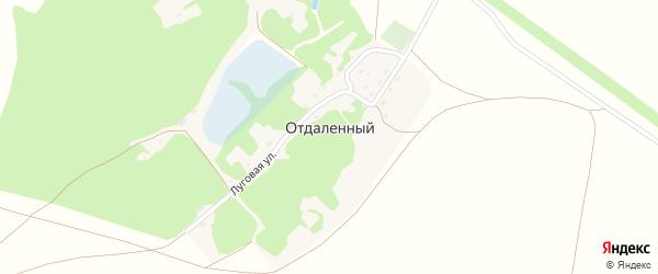Зеленая улица на карте Отдаленного поселка с номерами домов