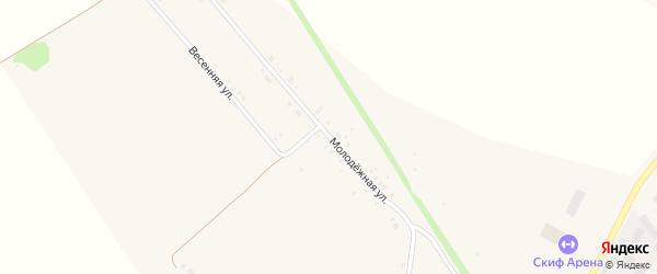 Молодежная улица на карте поселка Новые Зори с номерами домов
