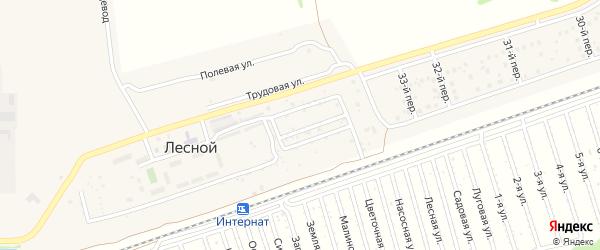 4-я линия на карте садового некоммерческого товарищества Нефтяника с номерами домов