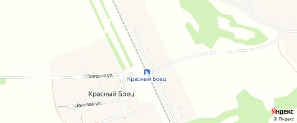 Привокзальная улица на карте станции Красного Бойца с номерами домов