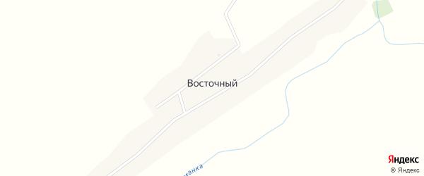 Школьная улица на карте Восточного поселка с номерами домов