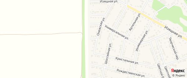 Зональный переулок на карте села Власихи с номерами домов