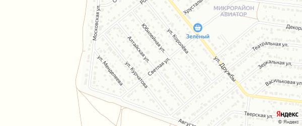 Алтайская улица на карте Барнаула с номерами домов