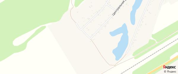 Черничная улица на карте поселка Черницка с номерами домов
