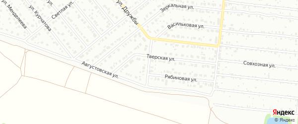 Липовый переулок на карте Барнаула с номерами домов