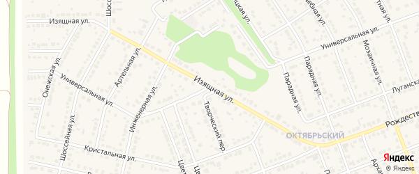 Универсальная улица на карте села Власихи с номерами домов