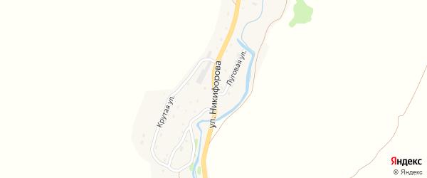 Улица Никифорова на карте Чарышского села с номерами домов