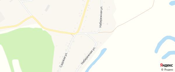 Набережная улица на карте поселка Троицка с номерами домов