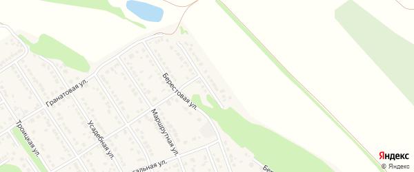 Коралловая улица на карте села Власихи с номерами домов