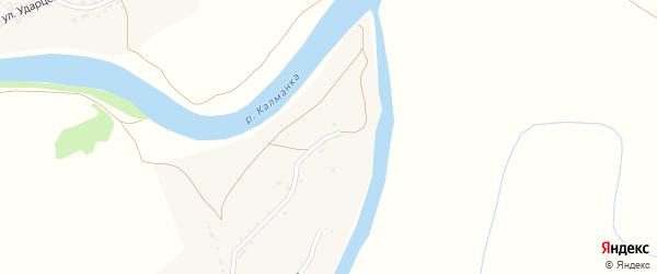 Алейская улица на карте поселка Троицка с номерами домов