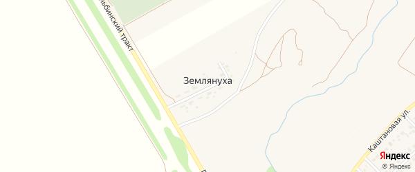 Прифермская улица на карте поселка Землянухи с номерами домов