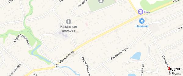 4-й проезд на карте села Власихи с номерами домов