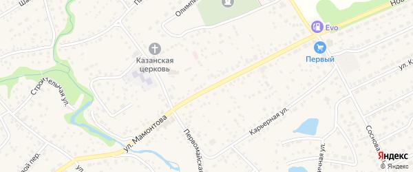 2-й проезд на карте села Власихи с номерами домов