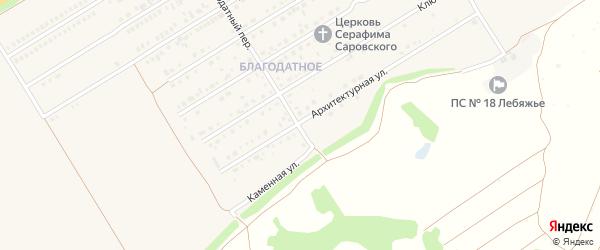 Солонешенская улица на карте Центрального поселка с номерами домов