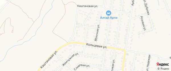 Ромашковая улица на карте поселка Казенной Заимки с номерами домов