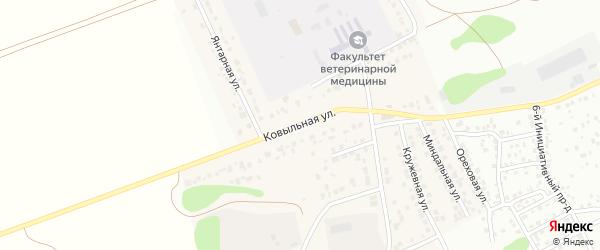 Ковыльная улица на карте Пригородного поселка с номерами домов