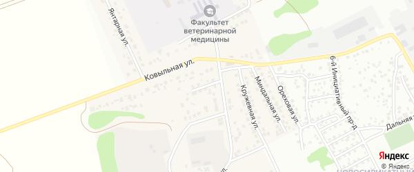Укромный тупик на карте Пригородного поселка с номерами домов