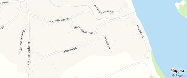 Новая улица на карте села Калистратихи с номерами домов