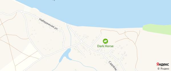 Обская 1-я улица на карте поселка Казенной Заимки с номерами домов
