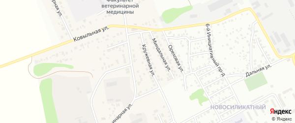 Кружевная улица на карте Пригородного поселка с номерами домов