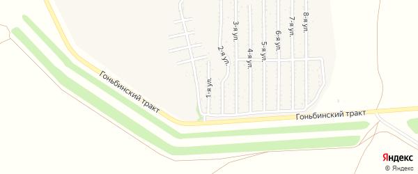 1-я улица на карте территории стд Дизеля с номерами домов