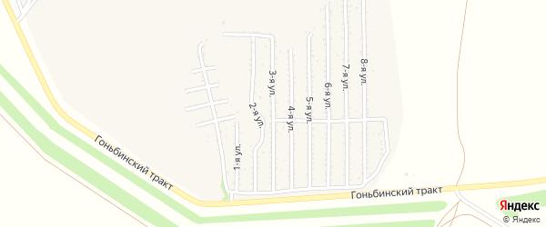 3-я улица на карте территории стд Дизеля с номерами домов