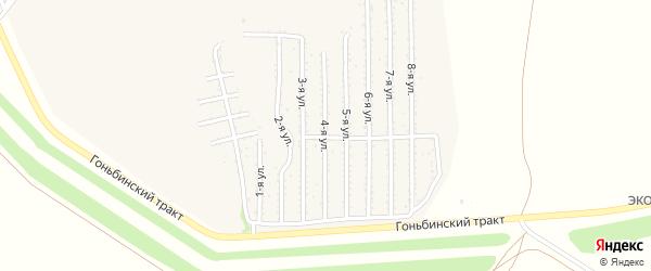 4-я улица на карте территории стд Дизеля с номерами домов