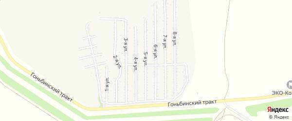 5-я улица на карте территории стд Дизеля с номерами домов