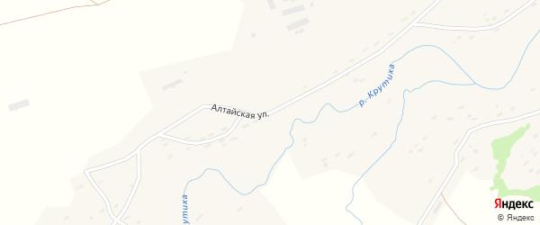 Алтайская улица на карте села Вяткино с номерами домов
