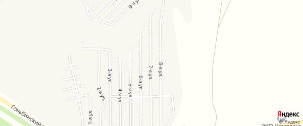 7-я улица на карте территории стд Дизеля с номерами домов