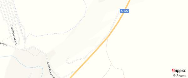 Карта территории СТ Вишневое в Алтайском крае с улицами и номерами домов