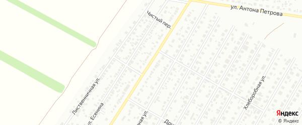 Просторная улица на карте Барнаула с номерами домов