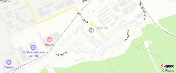 Улица Куета на карте Барнаула с номерами домов