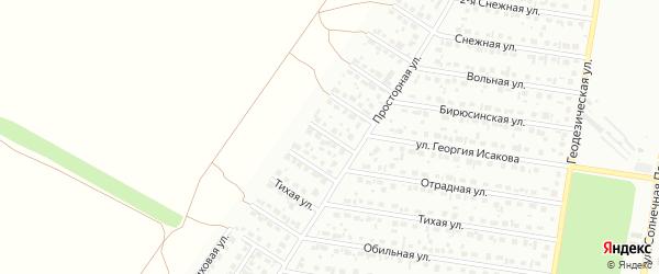Золотистая улица на карте Барнаула с номерами домов