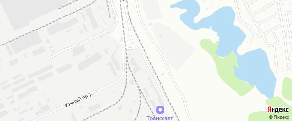 Деловой проезд на карте Барнаула с номерами домов