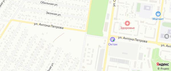 Геодезическая улица на карте Барнаула с номерами домов