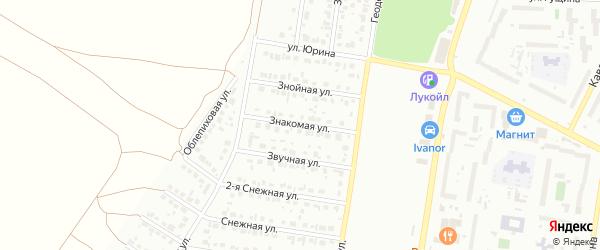 Знакомая улица на карте Барнаула с номерами домов