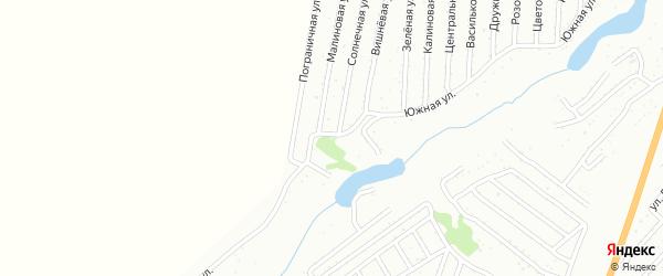 Детская улица на карте садового некоммерческого товарищества Сельского строителя с номерами домов